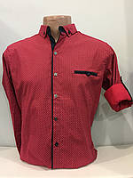 Рубашка мужская на кнопках