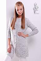 Красивая женская кофта кардиган Данна на пуговицах с длинным рукавом