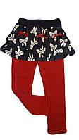 Лосины+юбка для девочек на меховой подкладке F&D, 3-8 рр. № 9229