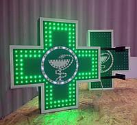 Аптечный крест 60х60см (454 диода с программой)
