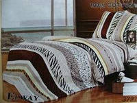 Сатиновое постельное белье семейное ELWAY 3797
