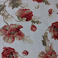 Sweet Home ткань декоративная принт цветы на хлопке
