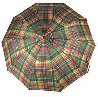 Женский прочный стильный зонтик полуавтоматS.L art. 475 цветные полосы(101407)