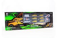 Игрушечная машинка «Трейлер» (6 гоночных машинок, 1 фура) 95577-3