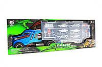 Игрушечная машинка «Трейлер» (6 гоночных машинок, 1 фура) 95577-1