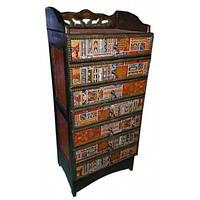 Комод 7 ящиков деревянный с тибетским орнаментом