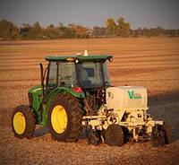Сканер почвы Veris MSP3 на тракторе для измерения электропроводности, органического вещества и pH