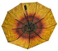 Женский прочный зонтик с плотным куполомполуавтомат MARIO UMBRELLASart. 144 яркий внутри (101370)