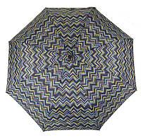 Женский прочный стильный зонтик полуавтоматSWEFTS art. 3615 цветные точки загзагом(101292)