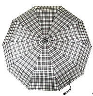 Женский стильный прочный зонтик автомат MAX KOMFORT art. 923 клетка(101332)