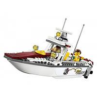 Lego City Рыболовный катер 60147 Fishing Boat Creative Play Toy