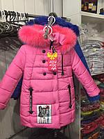Зимняя куртка для девочки Азия, фото 1