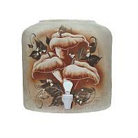 Диспенсер керамический шамот Цветы