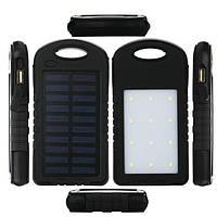Внешний аккумулятор водонепроницаемый ударостойкий c LED Power bank SOLAR 10000 mAh.