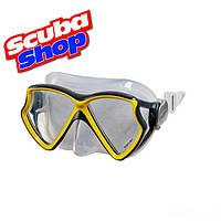 Детская маска для плавания Swim Gear Intex 55980, цвет желтый