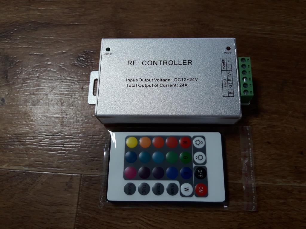 Контроллер RGB OEM  24А-RF-24кнопки