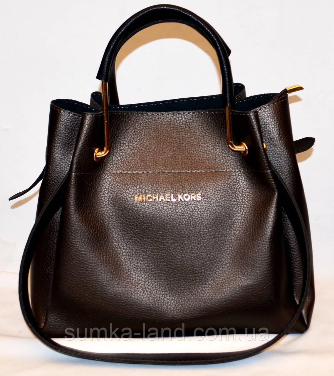 6302731422ab Женская элитная сумка черная с черными ручками 28*26: продажа, цена ...