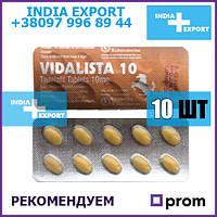 СИАЛИС ВИДАЛИСТА 10 мг   Тадалафил   возбудитель для мужчин, дженерик
