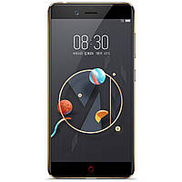 "Смартфон ZTE Nubia M2 Lite 4/32GB Black/Gold (2SIM) 5,5"" 4/32 GB 16/13 Мп 3G 4G оригинал"