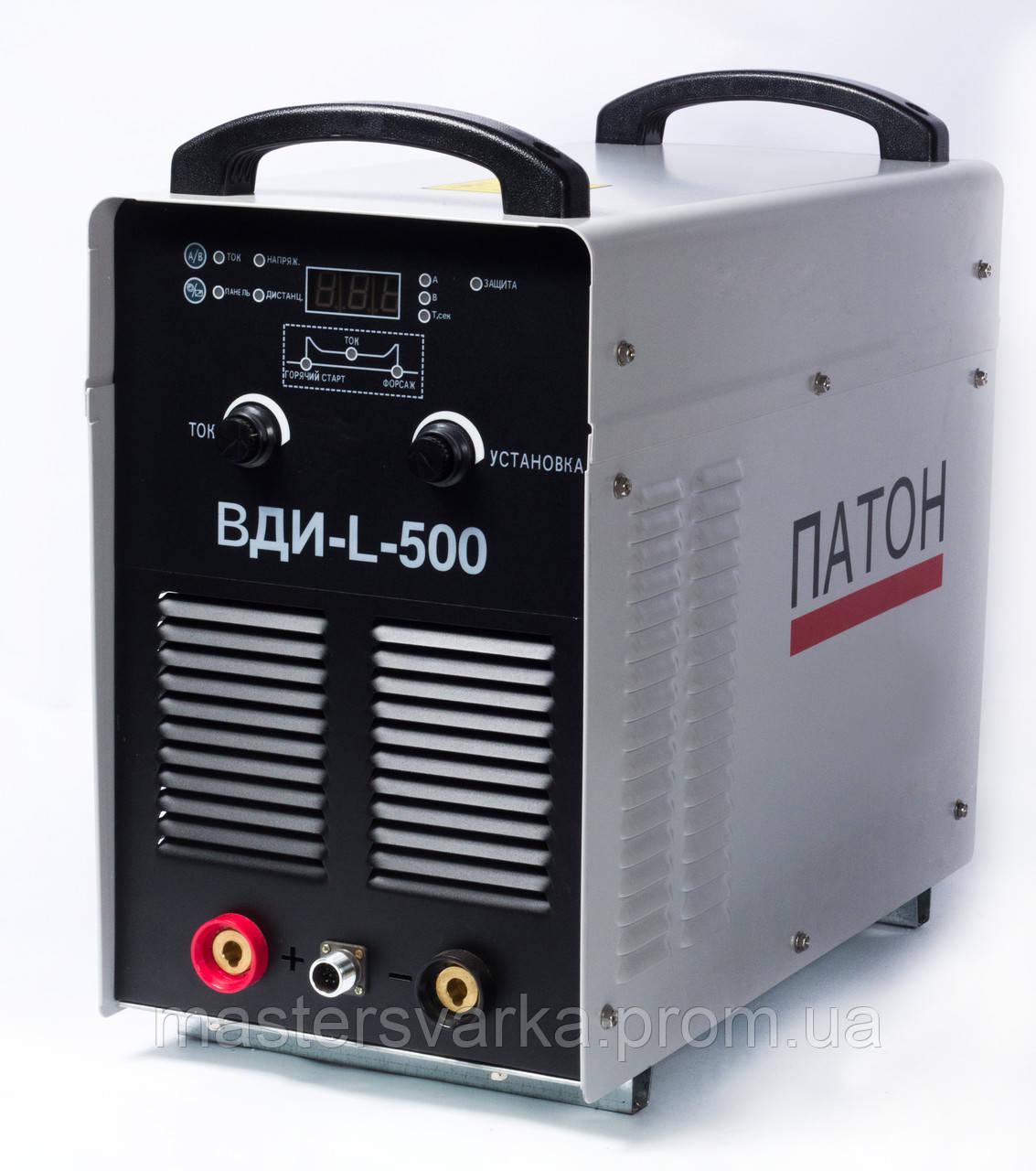 Сварочный инверторный аппарат Патон BДИ-L-500 DC MMA