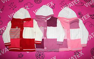 Детский свитер Пуговица акрил