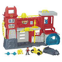 Трансформеры Спасатели: Штаб спасателей Hasbro Playskool Heroes