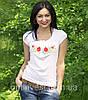 """Жіноча футболка вишиванка трикотаж """"Рюша"""", фото 4"""