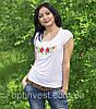 """Жіноча футболка вишиванка трикотаж """"Рюша"""", фото 5"""
