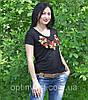 "Трикотажна жіноча  футболка ""месик"", фото 3"