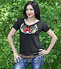 """Красива футболка вишиванка для жінок """"Колосок"""", фото 3"""