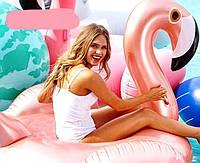 Надувной матрас Перламутровый Фламинго 190 см