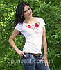 Національна футболка маки біла, фото 4