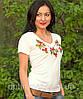 """Жіноча футболка з вишивкой """"Месик"""", фото 3"""