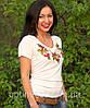 """Жіноча футболка з вишивкой """"Месик"""", фото 4"""