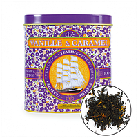 TdO Огранический черный чай с ароматом ванили и карамели / Vanilla & Caramel Flavoured Black Tea, 100 г