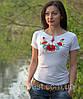 Національна футболка маки біла, фото 5