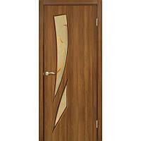 Межкомнатные двери Омис Фиеста ПВХ СС+КР (ольха европейская)