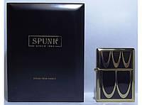 Подарочная зажигалка SPUNK в деревянной упаковке PZ3601