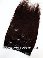 Натуральные волосы на заколках Clip 18HH(7PS): цвет 3