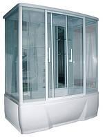 Душевой бокс Triton Альфа (стекло с вертик. полосками)