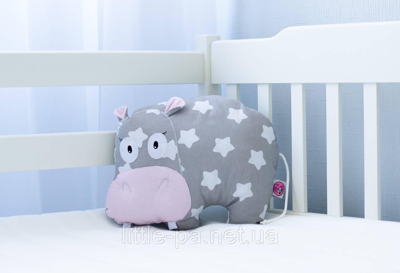 """Интерьерная подушка из натуральных материалов """"Глория"""""""