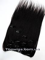 Натуральные волосы на заколках Clip 18HH(7PS): цвет NC
