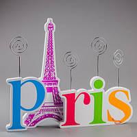 """Необычная подставка для фотографий """"Париж"""" на 4 фотографии."""