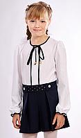 Школьные шорты-юбка для девочки