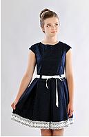 Нарядное платье с куружевом для девочки подростка