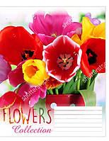 "Тетрадь 12 клетка ""1 вересня"" Flowers Dream"
