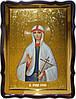 Икона Святая Агафья икона на золотом фоне