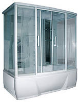Душевой бокс Triton Омега (стекло с гориз. полосками)