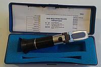 Портативный рефрактометр RHB-62ATC (28-62%Brix) для определения концентрации сахарозы в сиропах и варенье