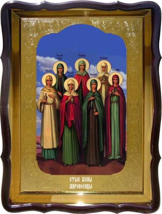 Церковная икона Святые  Жены Мироносицы